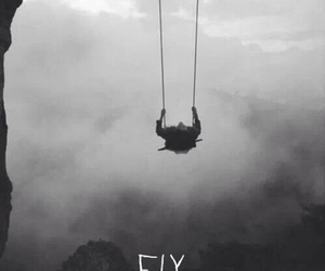 dark, Darkness, and fly image