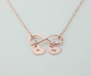 love, cute, and doble infinito image