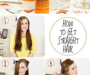 brown, pretty, and hairstyle image