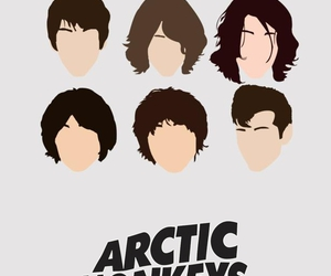 music, arctic monkeys, and band image