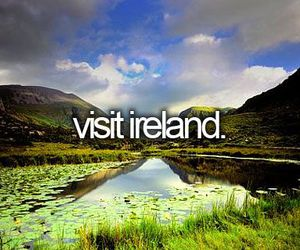 ireland, goals, and bucket list image