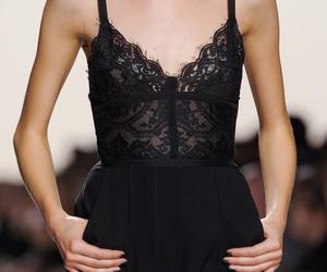 fashion, black, and elie saab image