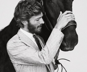 black, equestrian, and cool image