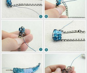 chain, diy, and bracelet image