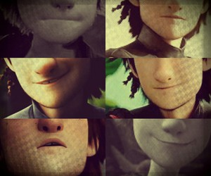 lips, smile, and hiccup image