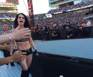 paige, wwe, and wrestlemania image