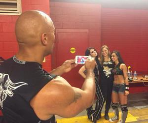 paige, aj lee, and ronda rousey image