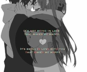 love, anime, and quote image