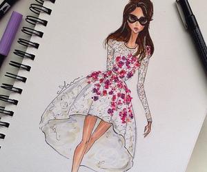 fashion, art, and drawing image