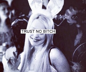 lindsay lohan, mean girls, and trust no bitch image