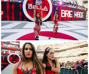 wwe, wrestlemania, and brie bella image