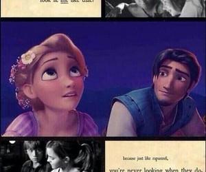 love, rapunzel, and boy image