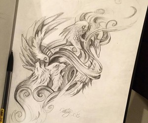 deviantart, drawing, and untitled image