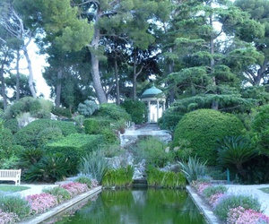 france, garden, and outdoors image