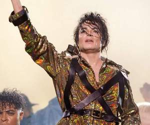 king of pop, michael jackson, and dangerous tour image