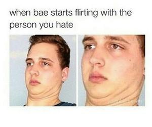 bae, flirting, and lol image