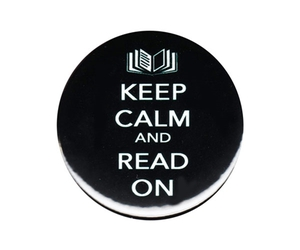 badge, books, and bookworm image