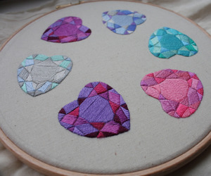 bordado, embroidery, and needle image