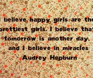 audrey, believe, and Breakfast at Tiffanys image