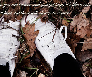 autumn, converse, and cut image
