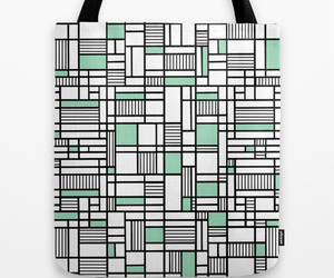 black, green, and grid image