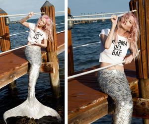 amazing, mermaid, and pale image