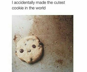 cute, cookie, and funny image