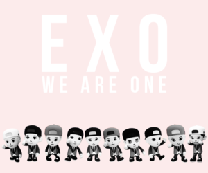 exo, kpop, and we are one image