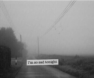 tonigh, alone, and black&white image