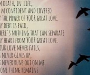 jesus, overcome, and your love never fails image