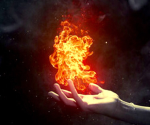 fire, flame, and elemental image
