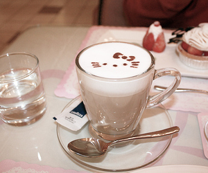 adorable, hello kitty cafe, and photography image