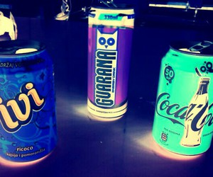 coca cola, ivi, and neon image