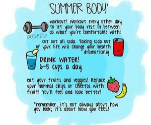 fitness, workout, and summer image