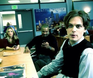 criminal minds, matthew gray gubler, and shemar moore image