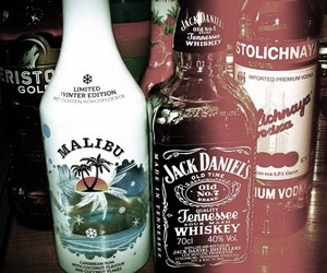 malibu, alcohol, and drink image