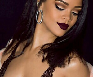 beautiful, riri, and bold lips image