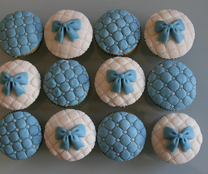 cupcake and blue image