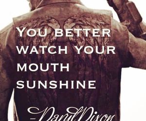 sunshine, the walking dead, and daryl image