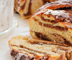 food, cake, and bread image
