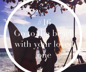 love and beach image