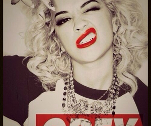 obey, rita ora, and swag image