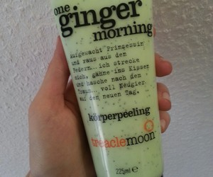ginger, morning, and green image
