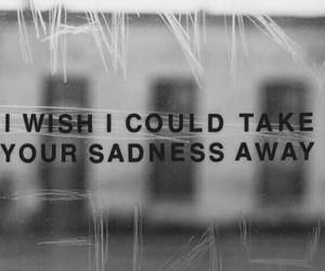 sadness, quotes, and sad image