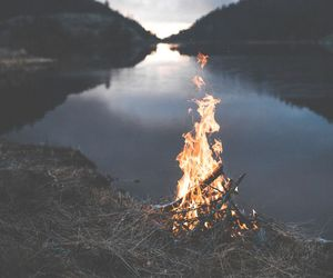 burn, fire, and indie image