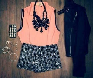 look, pink, and style image