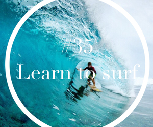 surfing, fun, and sea image