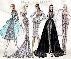 hayden williams, dress, and art image
