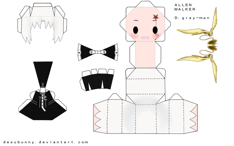 63 images about Papercraft on We Heart It | See more about chibi ...