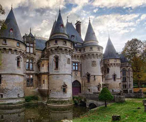 castle, chateau, and france image